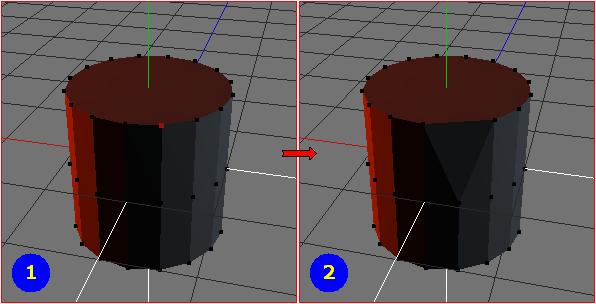 Vertices - Dissolve