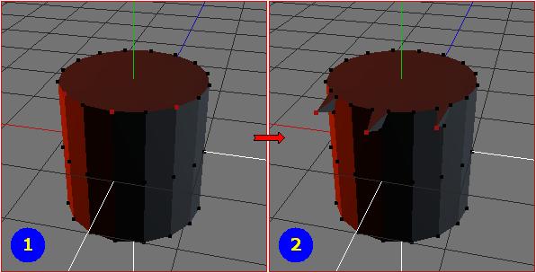 Vertices - Extrude Z